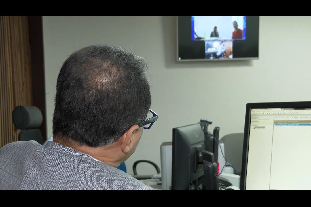 Videoconferência facilita audiências de processos criminais
